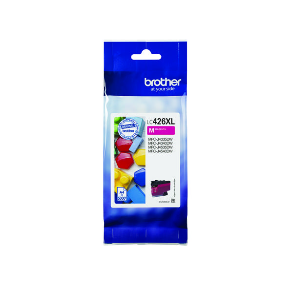 Brother High Yield Magenta Ink Cartridge LC426XLM