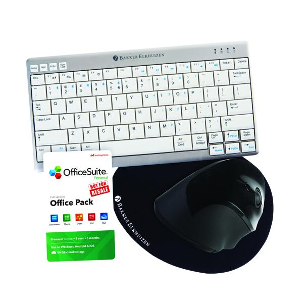 Bakker Elkhuizen Keyboard/Mouse FOC Mat/6 Month Officesuite Licence