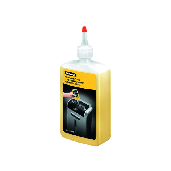 Fellowes Shredder Oil 355ml (Designed for Fellowes Shredders) 35250