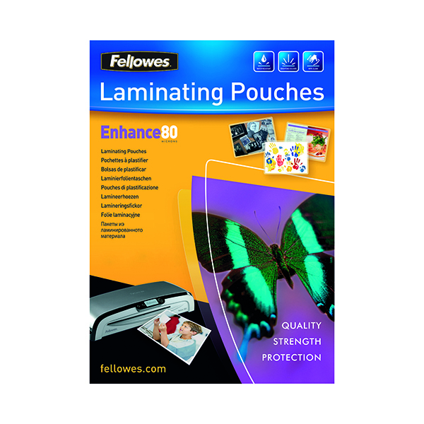 Image for Fellowes A3 Laminating Pouch 160 Micron (Pack of 100) 5306207