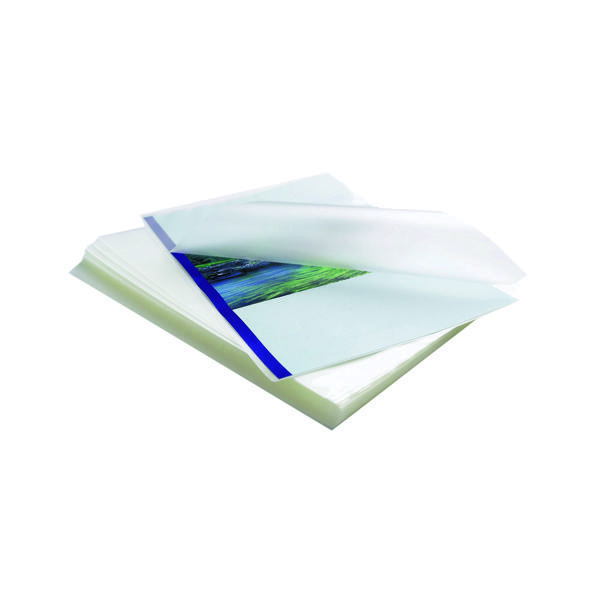 Fellowes Apex A4 Laminating Pouches Clear (Pack of 100) 6003301