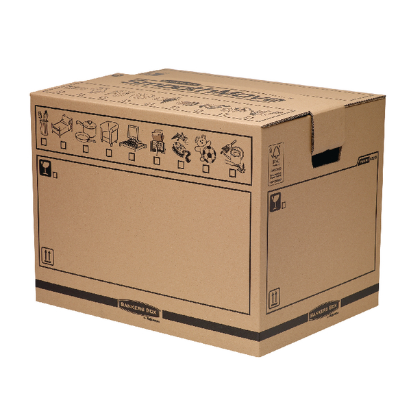 Bankers Box Manual Removal Box Trunk H420xW400xD550mm (Pack of 5) 6205701