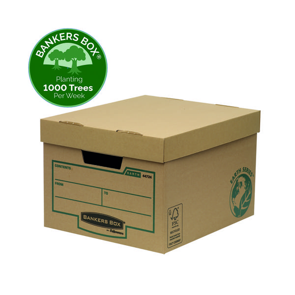 Bankers Box Earth Series Storage Box Brown (Pack of 10) 4472401