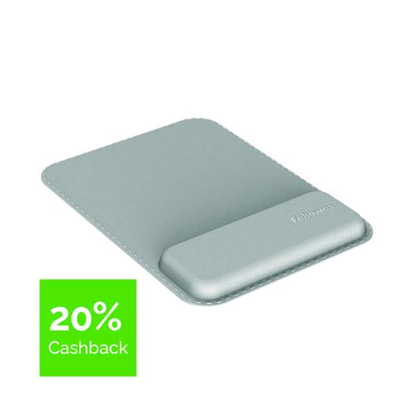 Fellowes Hana Mousepad Wrist Support Grey 8066501