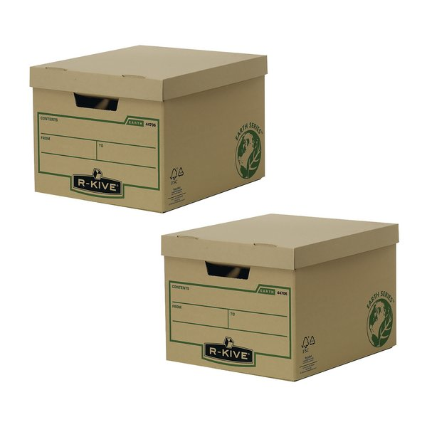 Bankers Box Brown R-Kive Earth Storage Box (Pack of 10)  BOGOF