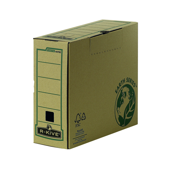 Bankers Box by Fellowes Earth Series Pk20 100mm Transfer Files Buy One Get One Free