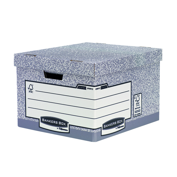 Fellowes Heavy Duty Bankers Box Large Buy 1 Get 1 Free