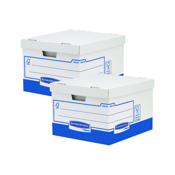 Fellowes Basics Large Storage Box (Pack of 10) BOGOF