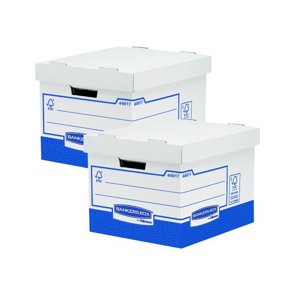 Fellowes Basics Standard Storage Box (Pack of 10) BOGOF