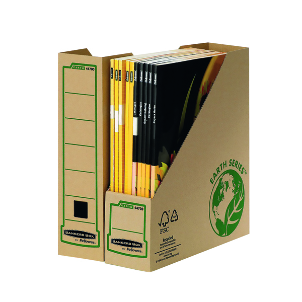 Fellowes Bankers Box Earth Series Mag File (Pack of 20) BOGOF