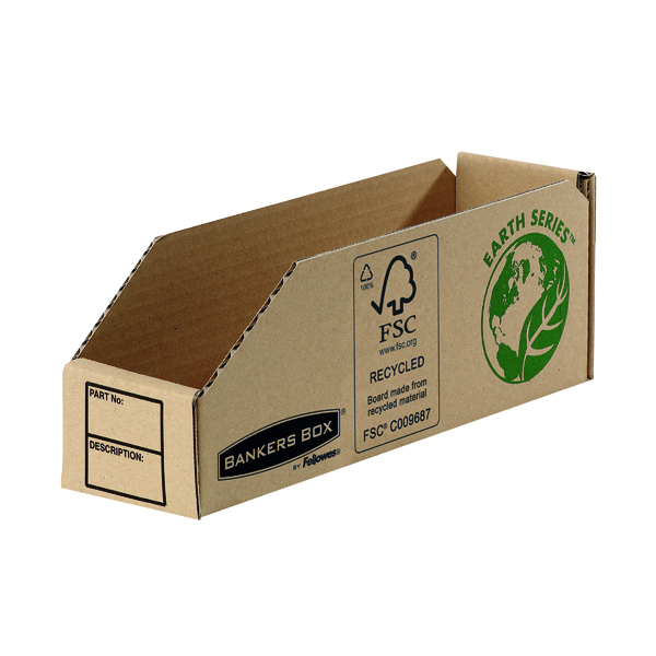 Fellowes Earth Series Parts Bin 76mm (Pack of 50) 7352