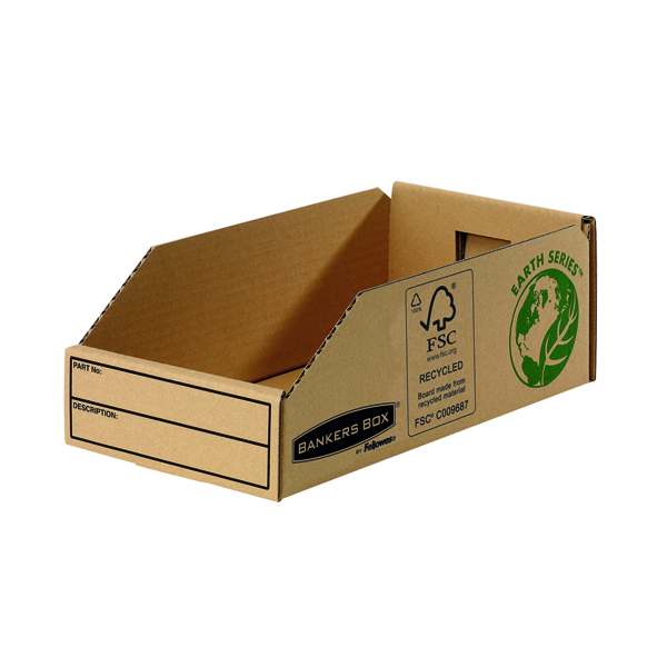 Fellowes Earth Series Parts Bin 147mm (Pack of 50) 7354
