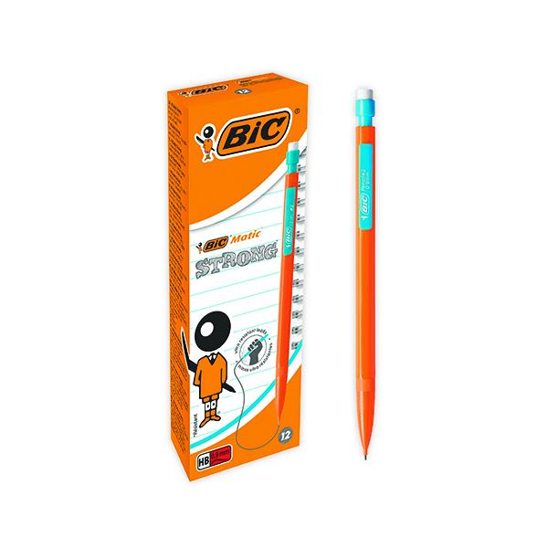 Bic Matic Original Mechanical Pencil Broad 0.9mm (Pack of 12) 892271