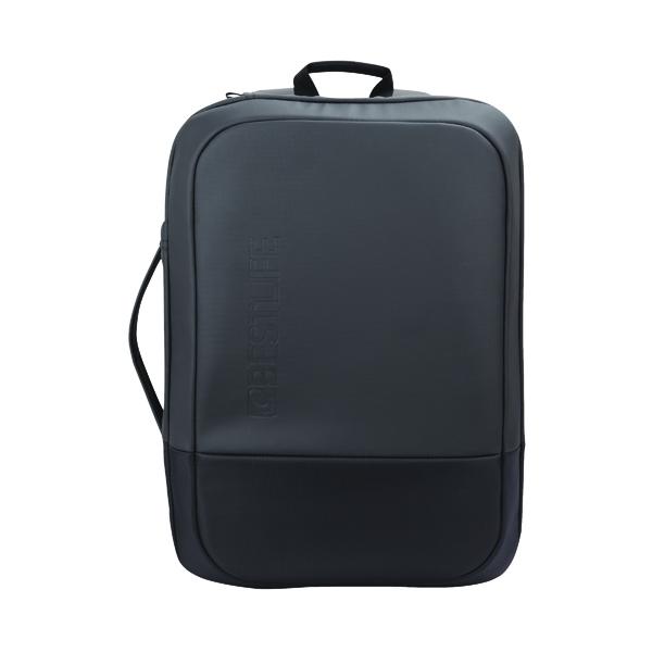 BestLife Travelsafe 15.6 Inch Laptop Backpack + USB Connector 170x290x460mm Black BB-3410