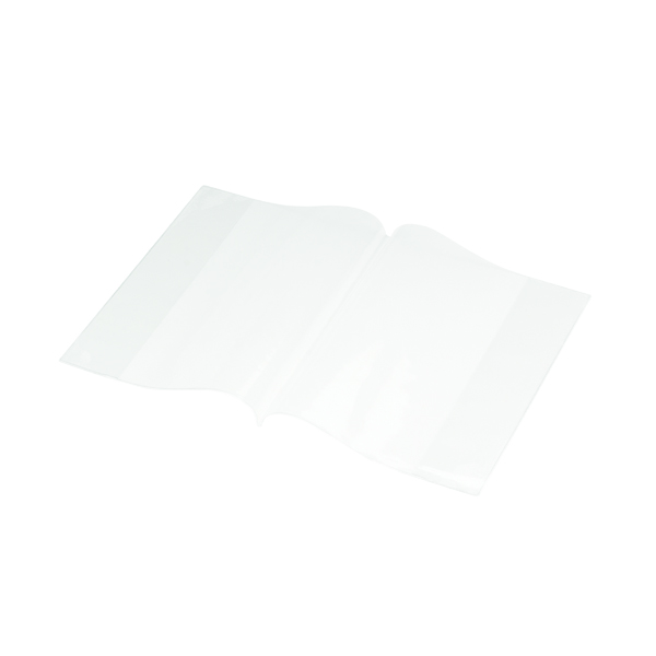 Bright Ideas PVC Book Cover Clear A5 250 Micron (Pack of 10) BI9001