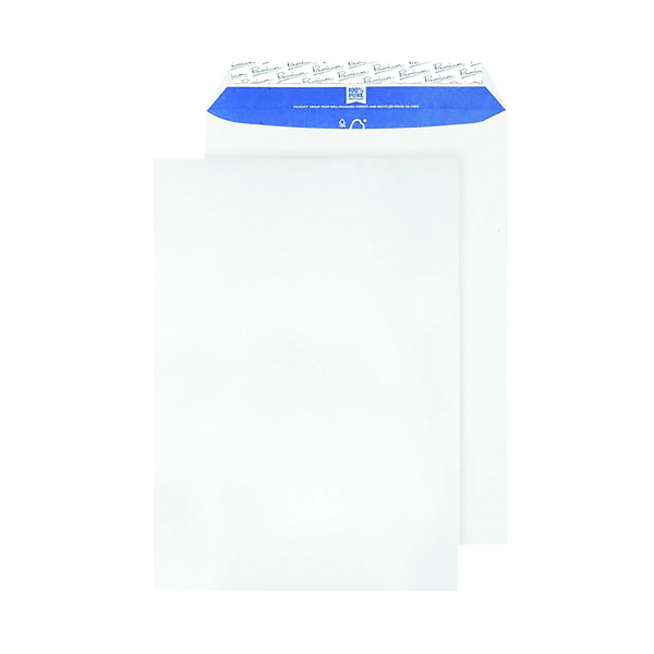 Blake PremiumPure C4 Recycled Peel & Seal White Envelopes (Pack of 20) RP84653