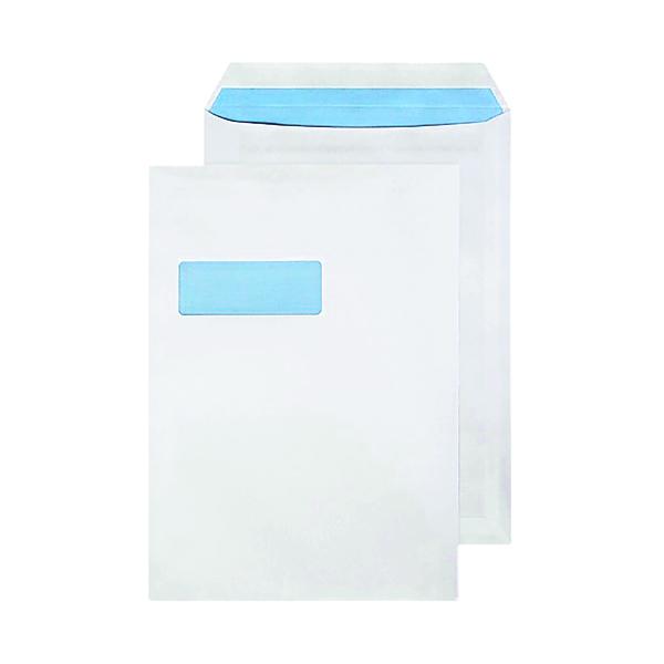 Blake PurelyEveryday C4 90gsm Seal White Window Envelopes (Pack of 50) 12892/50PR