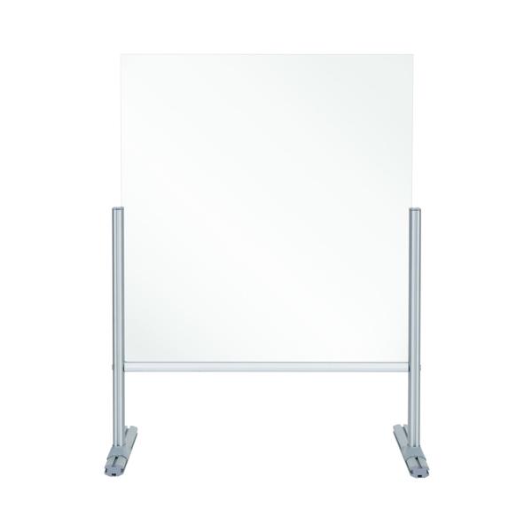 Bi-Office B Desk Glass Protection 4mm 850x850mm DSP703041