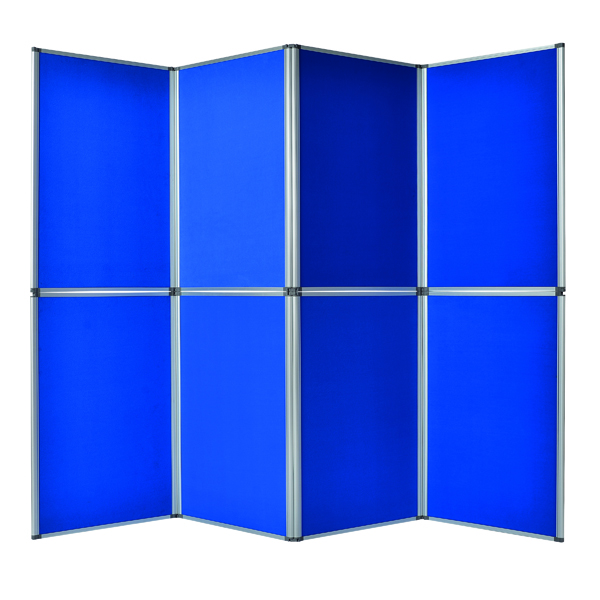 Bi-Office Display System 6 Panel Blue (Dimensions: 1020 x 750 x 50mm) DSP340116