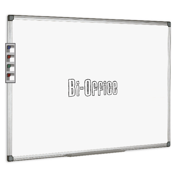 Bi-Office Aluminium Trim Drywipe Board 2400x1200mm MB0312170