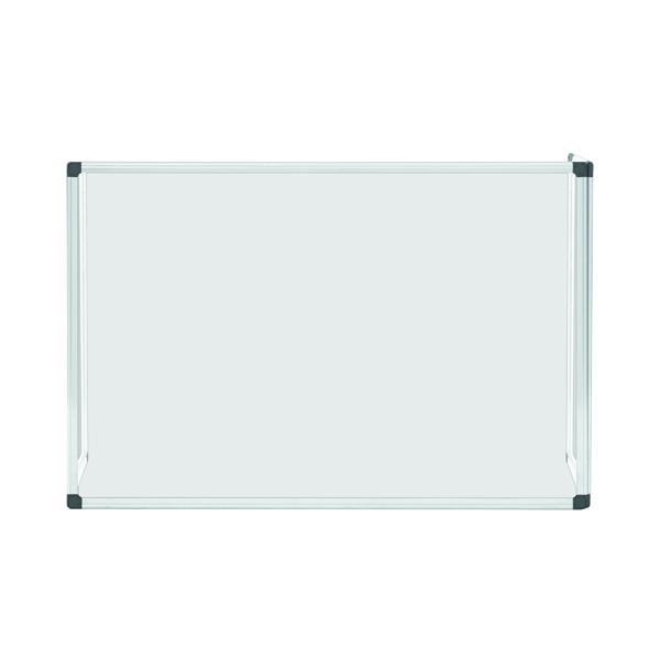 Bi-Office Trio Glass Board 900x600/2 3mm Aluminium GL07219101
