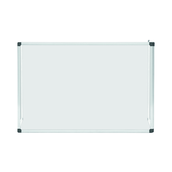 Bi-Office Trio Glass Board 1200x900/2 3mm Aluminium GL08219101