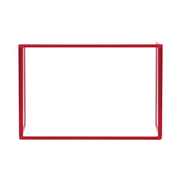 Bi-Office Trio Transparent Board 1200x900/2 3mm Red GL08219201