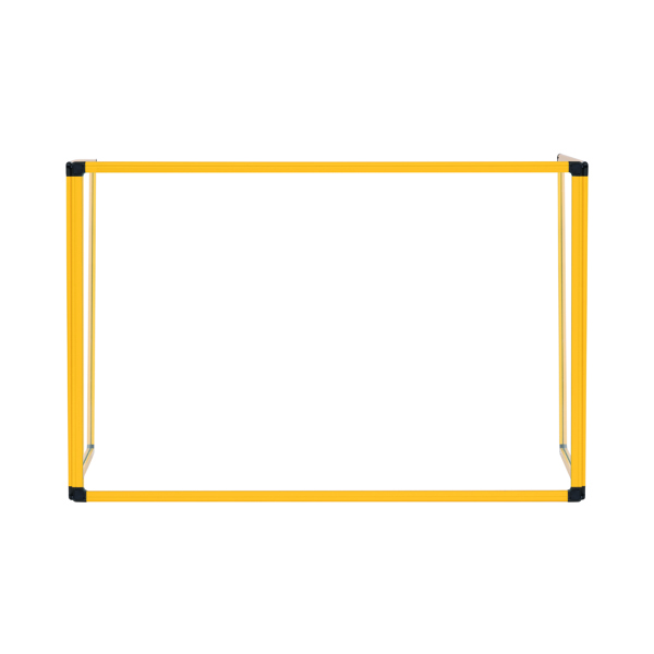 Bi-Office Trio Transparent Board 900x600/2 3mm Yellow GL07219401