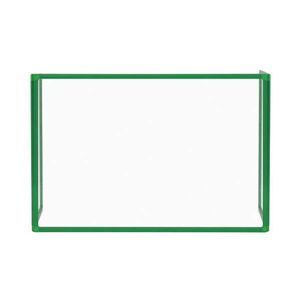 Bi-Office Trio Transparent Board 1200x900/2 3mm Green GL08219501