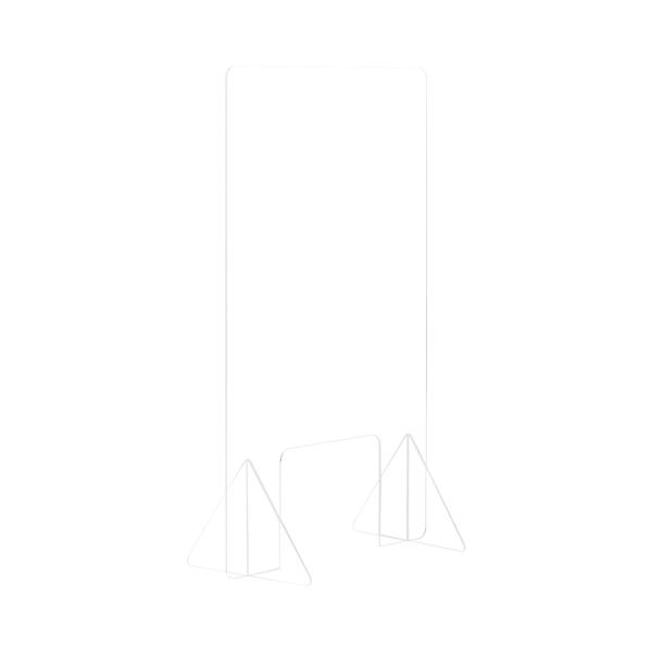 Bi-Office Frameless Counter Glass Protection 4mm 600x900mm GL0701392