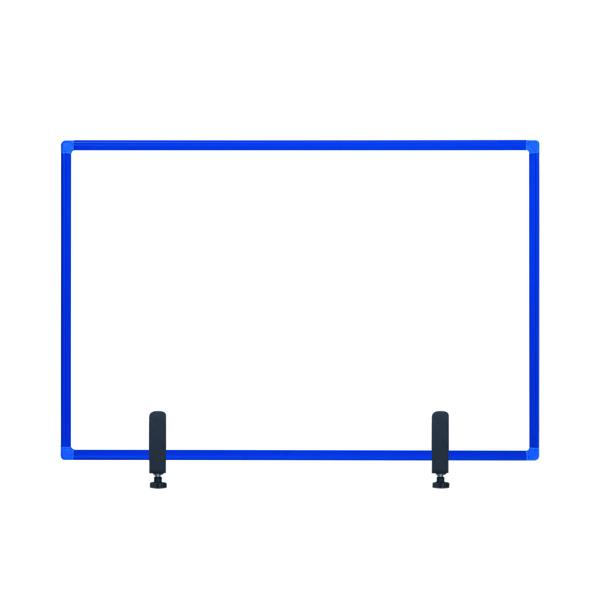 Bi-Office Protect Desktop Acrylic Board Blue Frame 900x600 AC03019121