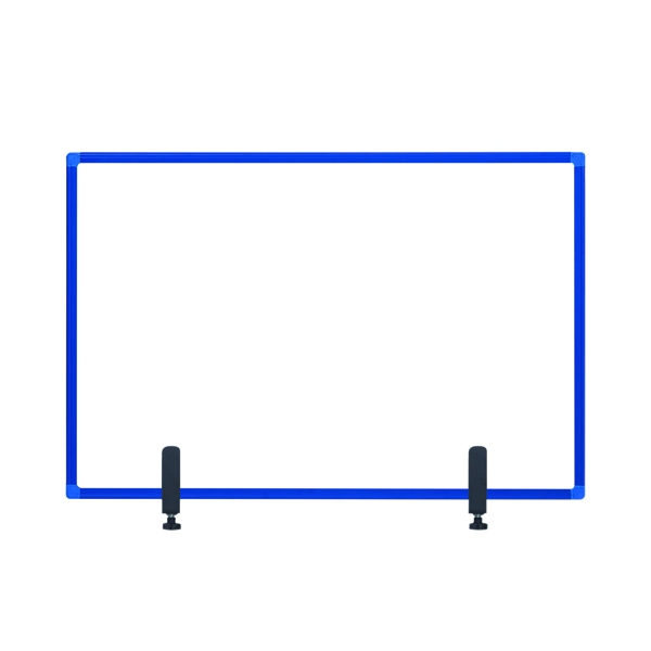Bi-Office Protect Desktop Acrylic Board Blue Frame 1200x900 AC05019121