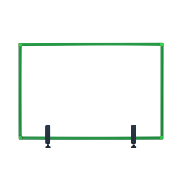 Bi-Office Protect Desktop Acrylic Board Grn Frame 1200x900 AC05019141