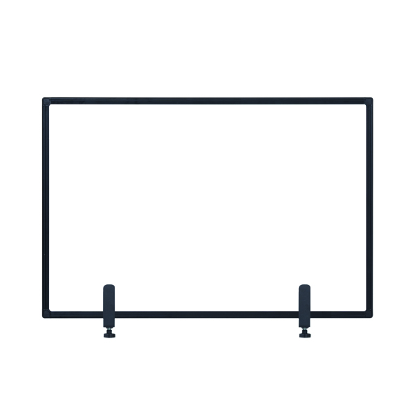 Bi-Office Protect Desktop Acrylic Board Blk Frame 1040x700 AC23019151