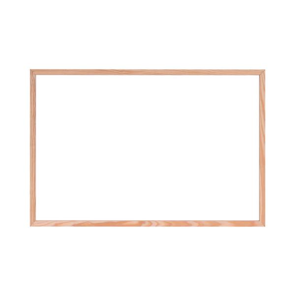 Bi-Office Protect Desktop Acrylic Board Wood Frame 1200x900 AC03010181