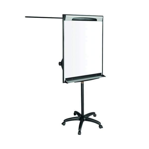 Bi-Office Mobile Magnetic Flipchart Easel 700x1000mm EA48061823