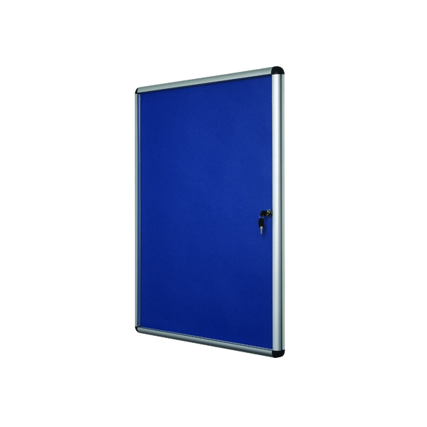 Bi-Office Lockable Internal Display Case 1110x930mm Blue VT640107150
