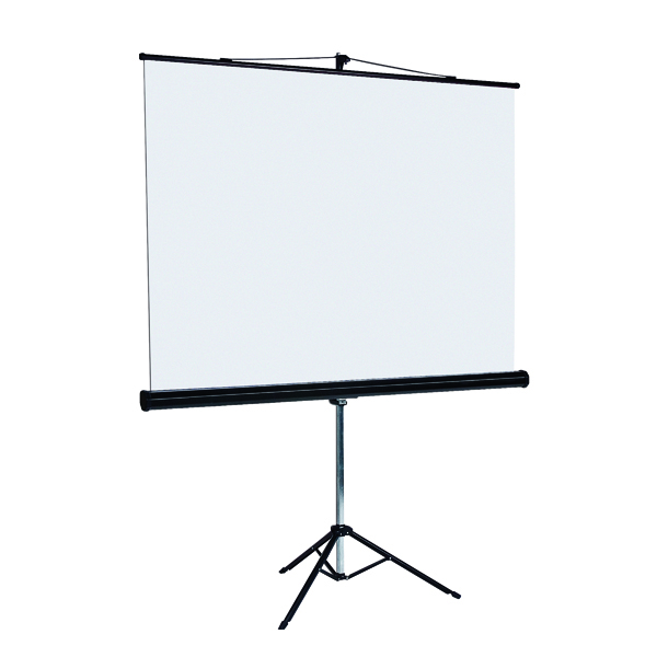 Image for Bi-Office Tripod Projection Screen 1250x1250mm 9D006028