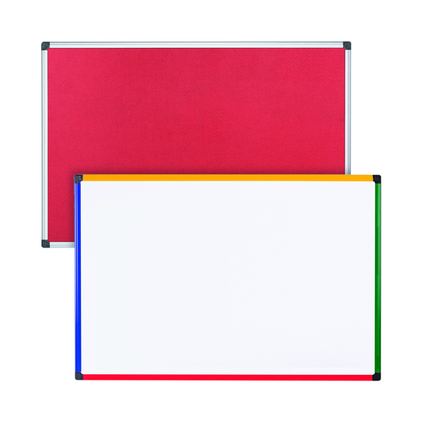 Felt Notice Board 1200x900 R Foc Clear Magnetic Board