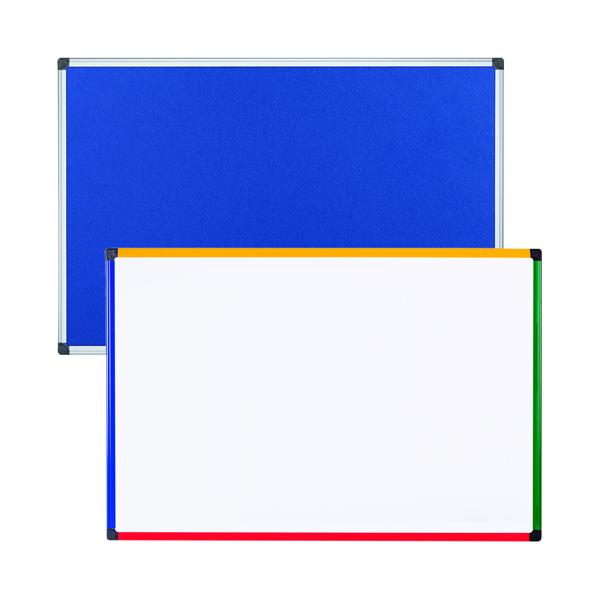 Felt Notice Board 600x900 B Foc Clear Magnetic Board