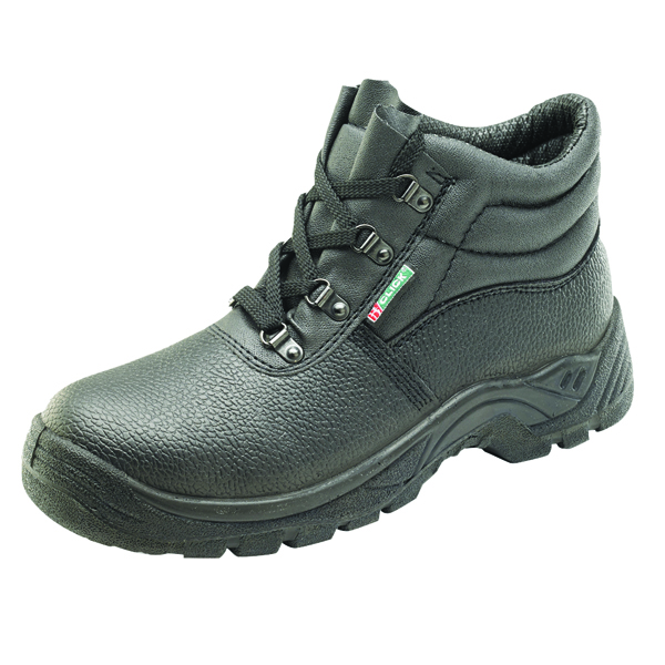 4 D-Ring Mid Sole Safety Boot Black Size 11 CDDCMSBL11