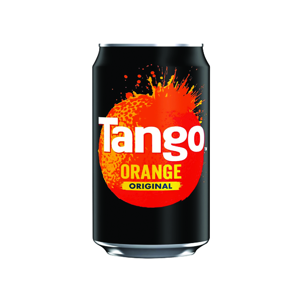 Tango Orange 330ml Can (Pack of 24) 3391