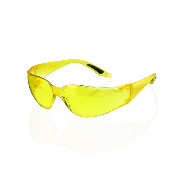 Vegas Safety Goggles Yellow Lens BBVSS2Y
