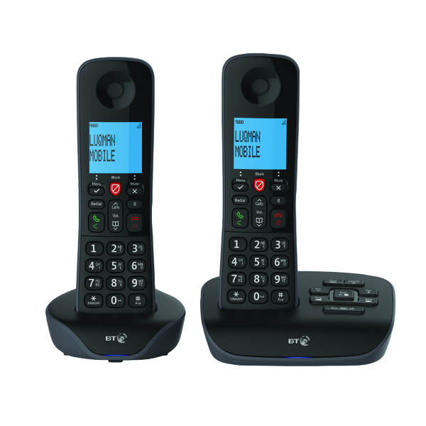 Image for BT Essential DECT TAM Phone Twin 90658