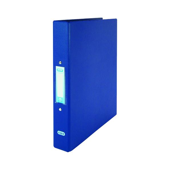 Elba Blue A4 2 Ring Binder 25mm (Pack of 10) 400001508