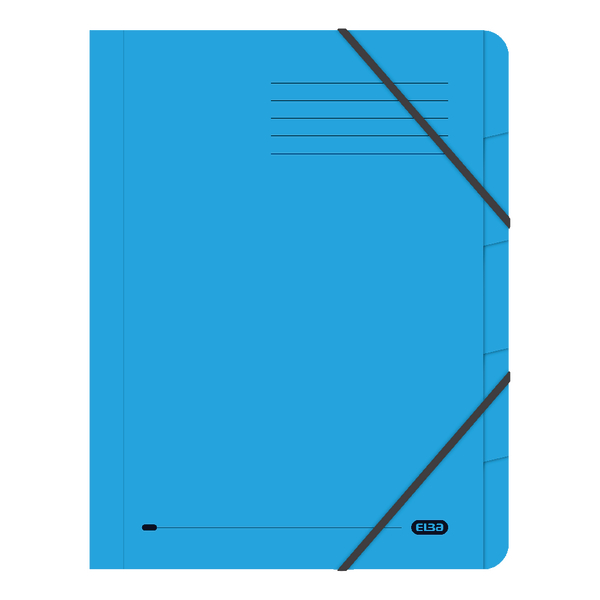 Elba Strongline 5-Part File A4 Blue (Pack of 5) 100090166