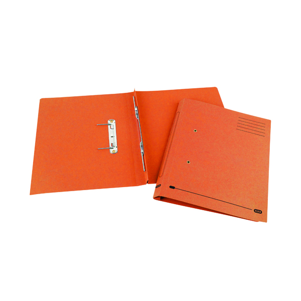 Elba Spirosoft Spring Foolscap Orange (Pack of 25) 100090161
