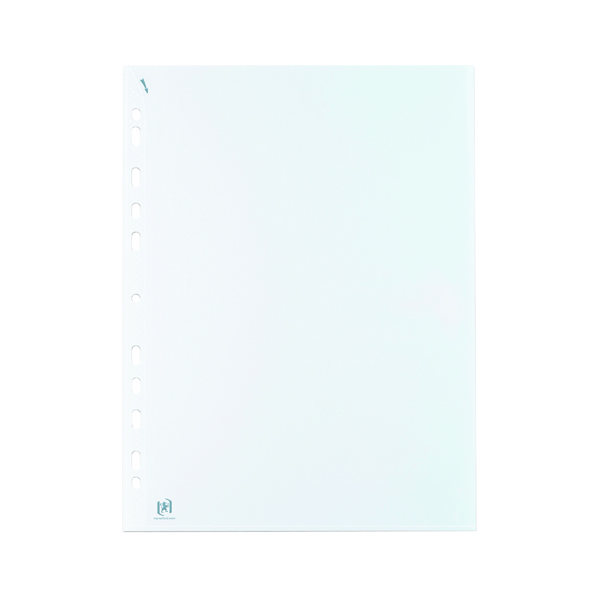 Elba Quick In Punched Pockets A4 Clear (Pack of 100) 400012939