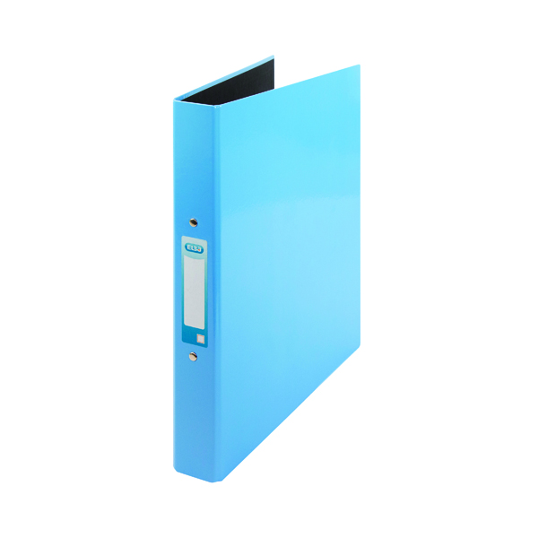 Elba Classy A4 Plus 25mm Metallic Blue Ring Binder 400017757