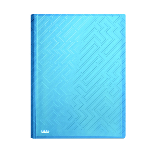 Elba Display Book 20 Pocket A4 Blue (Pack of 10) 400104983